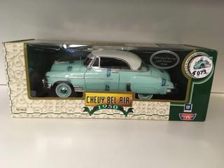 1950 Chevy Bel Air Light Emerald Green Die Cast.