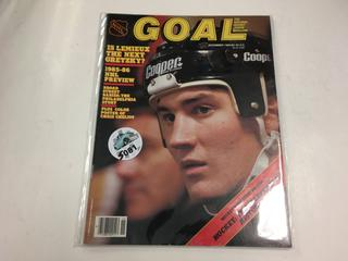 NHL Goal The National Hockey League Magazine November 1985.