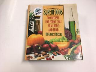 Superfoods Recipe Book.