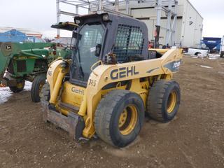 GEHL SL7800 2 Speed Skid Steer 7810 Turbo, Showing 7,571 Hours, SN 901693 *Note: In Running Order*