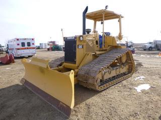 Caterpillar D4H Crawler c/w Diesel, Showing 9,213 Hours, 121 In. Blade, SBG 30 In., EROPS, SN 9DB04702X