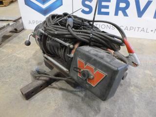 Warn Winch, Model MX12085 D1, 12000 lb. Capacity, w/ Control Switch, S/N 29987 (Row 3)