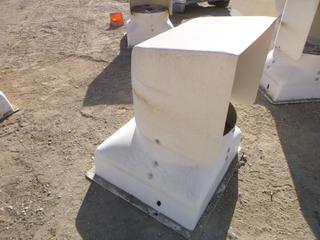 (1) Fiberglass Ventilation Fan