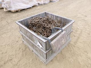 Qty of Various Lengths of Tire Chains, Lifting Chains and Shackles (Row 3)