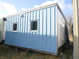 32 Ft. 3 In. L X 20 Ft. W Modus Camp Module, w/ 4 Bedrooms, 2 Bathrooms, (Missing Drywall In Corners) * * NOTE: Buyer Responsible For Load Out.  Located Offsite at TWP Road 743A, Conklin AB, T0P 1H0.  Shipping and Transport Available.  For More Information and Viewing Contact 780-944-9144.  * *