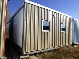 32 Ft. 3 In. L X 20 Ft. W Modus Camp Module, w/ 4 Bedrooms, 2 Bathrooms, (Missing Large Patches of Drywall)   * * NOTE: Buyer Responsible For Load Out.  Located Offsite at TWP Road 743A, Conklin AB, T0P 1H0.  Shipping and Transport Available.  For More Information and Viewing Contact 780-944-9144.  * *