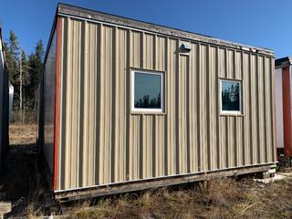 32 Ft. 3 In. L X 20 Ft. W Modus Camp Module, w/ 4 Bedrooms, 2 Bathrooms, (Missing  Some Drywall) * * NOTE: Buyer Responsible For Load Out.  Located Offsite at TWP Road 743A, Conklin AB, T0P 1H0.  Shipping and Transport Available.  For More Information and Viewing Contact 780-944-9144.  * *