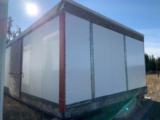 32 Ft. 3 In. L X 20 Ft. W Modus Camp Module, w/ Laundry Room,  Storage Room, Side Room  * * NOTE: Buyer Responsible For Load Out.  Located Offsite at TWP Road 743A, Conklin AB, T0P 1H0.  Shipping and Transport Available.  For More Information and Viewing Contact 780-944-9144.  * *