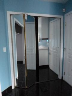 (2) 29.5in Folding Mirror Closet Doors **Note: Buyer Responsible For Load Out, Located Offsite For More Info Contact Shazeeda @780-721-4178**