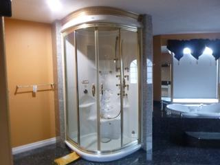 Max Westco Rain Forest Shower C/w Body Jets, Shower Lights, Clarion Stereo And Steamer **Note: Buyer Responsible For Load Out, Located Offsite For More Info Contact Shazeeda @780-721-4178**