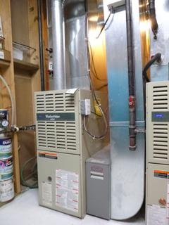 Carrier Weather Maker 8000 Furnace  C/w Totaline High Efficiency Media Air Cleaner And Aprilaire 760 Humidifier **Note: Ducting Not Included, Buyer Responsible For Load Out, Located Offsite For More Info Contact Shazeeda @780-721-4178**