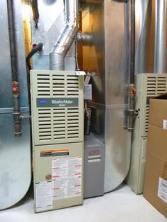 Carrier Weather Maker 8000 Furnace C/w Totaline High Efficiency Media Air Cleaner And Aprilaire 500 Humidifier **Note: Ducting Not Included, Buyer Responsible For Load Out, Located Offsite For More Info Contact Shazeeda @780-721-4178**