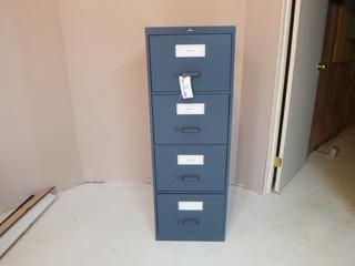 4-Drawer Filing Cabinet **Note: Buyer Responsible For Load Out, Located Offsite For More Info Contact Shazeeda @780-721-4178**