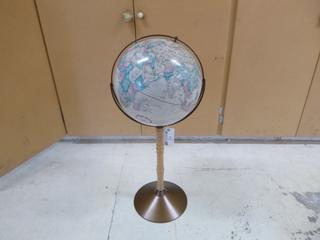 World Globe **Note: Buyer Responsible For Load Out, Located Offsite For More Info Contact Shazeeda @780-721-4178**