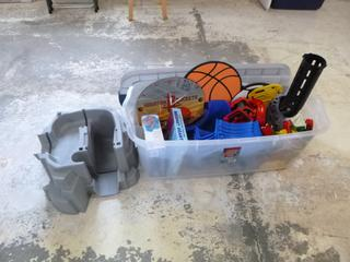 Qty Of Toys **Note: Buyer Responsible For Load Out, Located Offsite For More Info Contact Shazeeda @780-721-4178**