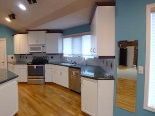 Kitchen Cabinetry w/ Granite Counter Top **Note: Appliances Not Included, Buyer Responsible For Load Out, Located Offsite For More Info Contact Shazeeda @780-721-4178**