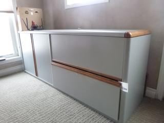 6ft X 20in File Cabinet **Note: Buyer Responsible For Load Out, Located Offsite For More Info Contact Shazeeda @780-721-4178**