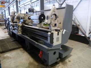 2003 TUR-630A Universal Lathe w/ 25in Swing And 5.5in Spindle Bore C/w Mitu Toyo KA Counter And Cutting Accessories. SN 070039 *Note: Buyer Responsible for Load Out*