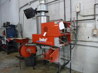 Dynablast Model UHE530BEN3A 208V 3000PSI 3-Phase 10Hp Cleaning System C/w Reel And Hose. SN 20100725 *Note: Running Condition Unknown* Buyer Responsible for Load Out