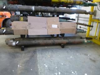 Qty Of (2) 6 1/2in Tri Load Series 2 Bearing Pack C/w Adjustable And (1) 6 1/2in Tri Load Series 1 Bearing Pack C/w Straight Housing  (SN: YA650-S160, YA650-103, YA650-083)