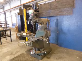 Microcut KR-VH-A Vertical Milling Machine C/w 2hp, 240V, Leeson Motor. SN 8412155