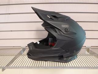 (1) Unused 509 Altitude Helmet, Part 509-HEL-ABOF8-4XL, Size 4X-Large, C/w Universal Go - Pro Mounts