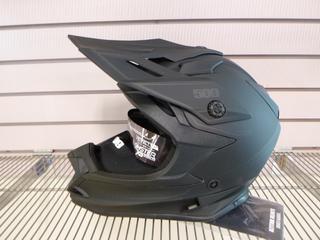 (1) Unused 509 Altitude Helmet, Part 509-HEL-ABOF8-LG, Size Large, C/w Universal Go - Pro Mounts