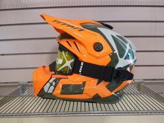 (1) Unused CKX Titan Helmet, Model Titan Air flow, Size X-Large