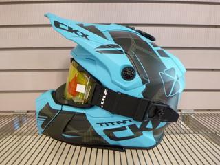 (1) Unused CKX Titan Helmet, Model Titan, Size X-Small