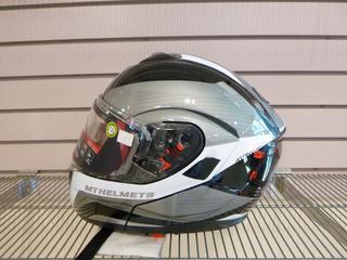 (1) Unused MT Helmets Atom SV D/L Helmet, Size Large
