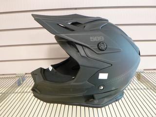(1) Unused 509 Altitude Helmet, Part F01000300-150-001, Model Black Ops, Size XXL