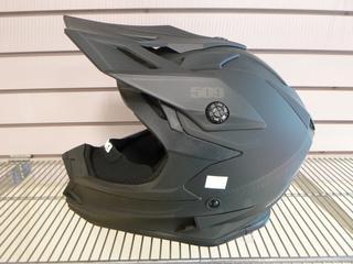 (1) Unused 509 Altitude Helmet, Part 509-HEL-ABOF8-MD, Model Black Ops, Size Medium