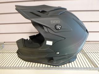 (1) Unused 509 Helmet, Part F01000900-140-001, Model Delta R3, Size Large