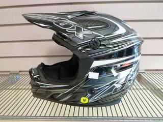 (1) Unused Zox Helmet, Part 88-20843, Model Rush C, Size Medium