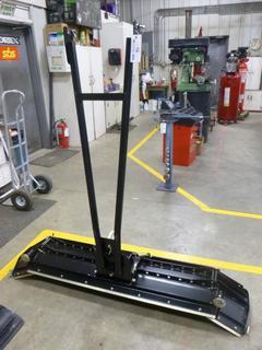 (1) Snow Blade For ATV, Folding 68 IN. - 70 IN.
