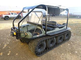 2012 Argo 8X8 Avenger 750 EFI  c/w 3,998 KMS, 660 Hours, 25X12-9 At 80%, Winch and Tracks, Roll Cage, VIN 2DGLS0BTXCNH32516