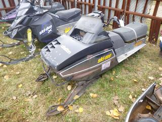 1979 Ski Doo Citation 4500 Snowmobile, SN 315403908 *NOTE: Parts Only*