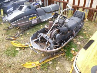 Bombardier Snowmobile, SN 112636806 *NOTE: Parts Only*