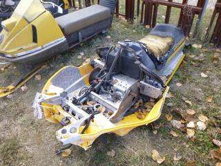 2000 Bombardier Ski Doo Snowmobile, VIN 2BPS15743YV000353 *NOTE: Parts Only*