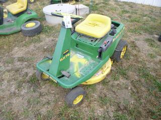 John Deere RX75 Lawn Mower c/w 30 In. Deck, SN M0RX75X502618 *Note: Parts Only*