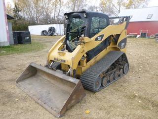 2007 CAT 297C Skid Steer c/w Diesel, Showing 4,511 Hours, A/C, Heat, Hyd Q/A, Bucket, SN CAT0297CCGCP00370