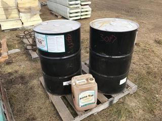 (2) Prime Flex 920 Polyurethane Foam, 55 G, Prime Kat 5 G Catalyst.