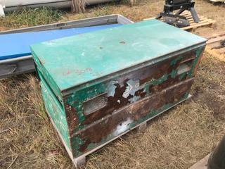 """Greenlee Tool Box 24""""x24""""x48""""."""