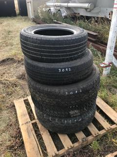 Assorted Tires 205/675R15, 215/70R16, 235/80R17.
