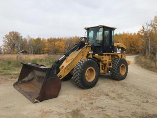 2006 Caterpillar 930G Wheel Loader c/w Auto Shift, A/c, Aux. Hydraulics, Quick Connect, 3 Yd Smooth Bucket Showing 3,055 Hours, 9,825 Kms. S/N CAT0930GETWR02454 **Machine is being used for Loadout. Pickup is LAST DAY of Loadout.**