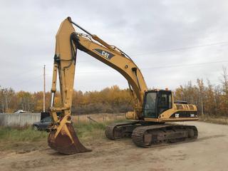 "2006 Caterpillar 330C L Hyd. Excavator c/w Aux. Hydraulics, 36"" Digging Bucket, Cat Walk, Showing 8,852 Hours. S/N CAT0330CEGKX00306"