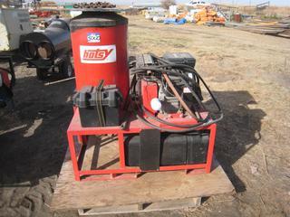 Hotsy 1260A Pressure Washer 3,000 PSI c/w Briggs & Stratton V-Twin 16.0 HP Gas Engine, 386,000 BTU/HR.