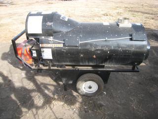 Flagro Industrial Heat Cannon Model FVP-400/FVN-400 Input: 395,000 BTU/HR.