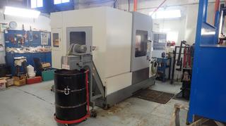 2011 Chevalier QP2040 20kva 230VAC Vertical Milling Machine C/w 8000Rpm Spindle Speed, Ring Sun Machinery RSCWS0 Conveyor System, Ishaw YET-C2P2 Centralized Lubrication System, Big-Plus Spindle System And Fanuc Series Oi-MD Parameter Controller. SN FMC111I02 *Note: 4th Axis 3-Jaw Chuck Not Included, Buyer Responsible For Load Out*