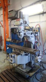 2007 Cantek Model 3VH 230V 3-Phase Milling Machine C/w Fagor Controls, 80in Chuck And 50in Bed. SN 71400. *Note: Buyer Responsible For Load Out, Scheduled Removal Required Please Contact Matt @780-360-3513*